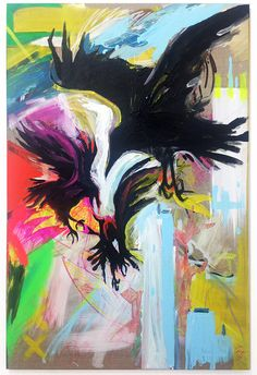 no title /80×120 cm/mixed media on canvas/2016