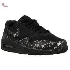 Nike - Air Max 1 FB GS - Couleur: Blanc-Noir - Pointure: 38.0 - Chaussures nike (*Partner-Link)