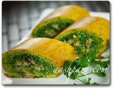 Try this #Veggie #Rollup you will #LoveIt https://www.aashpazi.com/vegetable-roll-up