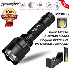 fineed Flashlight Led Flashlights Clip on Hands Free 3 Modes Magnetic to Clothing Lights Safety Soft Silicone Strap for Hiking Dog Walking Running Emergency Sports Outdoors Camping Vehicle Home