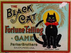 Black Cat Fortune Telling Game      Holy crap.   Ok kids, lets learn black magic too!
