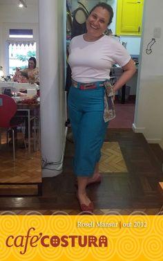 Roseli Mansur - Que charme a nova calça da Roseli!