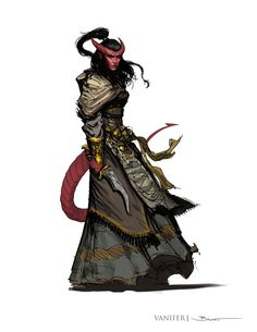 Vanifer of the Fire Snake Tribe, Daughter of Merekhet