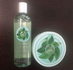 The Body Shop Fuji Green Tea Body Butter & Body Wash #TheBodyShop #Fuji #FujiGreen Tea #GreenTea #Body #BodyButter #BodyWash #Spa