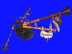 Docatius, der mittelalterliche Sackpfeifer, mit Dudelsack in und um Bremen, Oldenburg, Hamburg, Wilhelmshaven