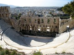 Athens Acropolis Amphitheatre, Greece - not only the beaches, but the history