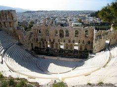 Athens Acropolis Amphitheatre, Greece