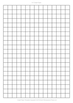 Download this one inch printable graph paper. Large graph