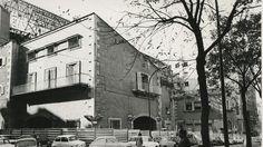 Frontón de Recoletos. Calle Villanueva . Funcionando hasta 1935