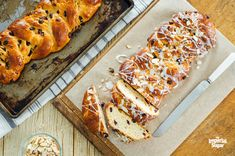 From breakfast to mid-afternoon snack to dessert, this tropical quick bread can be enjoyed all through the day. It is refreshingly light and full of coconut and pineapple flavor. Coconut Quick Bread, Braided Bread, Braided Buns, Messy Buns, Imperial Sugar, Sweet Dough, Salted Caramel Chocolate, Hot Cross Buns, Toasted Almonds