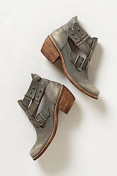 Fall Booties, yes please!     anthropologie, booties, leather, shoes, boots, fall, clothes, outfit, footwear, shopping, style, fashion
