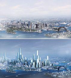 29 Best Futuristic Sydney Images Futuristic City Sydney