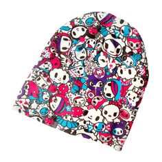 Neon Star by tokidoki Knit Slouchy Beanie | Claire's
