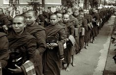 Monks in the monastery.  Photograph by RicardMN Photography