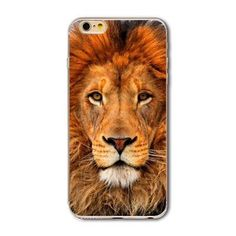 Phone Bag Case Cover for iPhone 4S 5 5S SE 6 6S 6Plus 6s Plus Thin Transparent Soft Cat Owl Rabbit Tiger Printed Phone Cover