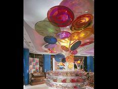 Candy Store Displays   Candy Bars & Lolli Pop Tree in store