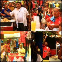 Estampas de los vendedores del centro de Maracaibo