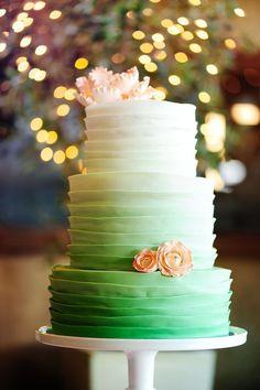 ombre wedding cake pour un mariage degrade (6)