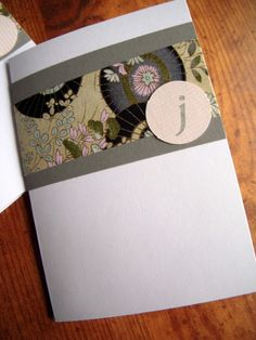 Beautiful handcrafted cards from Seven Layer Designs.  www.7layerdesigns.com
