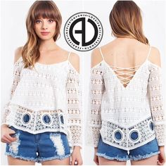 """SHOP our """"Demi top"""" off the shoulder and awesome cut outs SHOP:http://ift.tt/1rNgIir CODE:FREESHIP"""