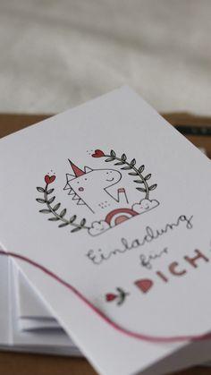 einhorn einladungen  karten zum ausdrucken   einhörner, ausdrucken und einladungen