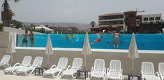 En este hotel de Adeje, Tenerife, Aquaspai ha suministrado e instalado la pared de metacrilato de su piscina. Tenerife, Fair Grounds, Fun, Travel, Pools, Viajes, Teneriffe, Destinations, Traveling