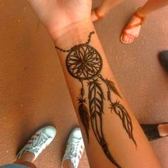 Временные татуировки - обзор видов, как сделать + фото | LadyWow.ru -  Тату хной