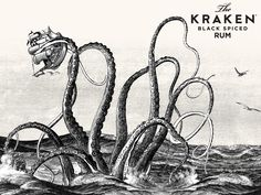 The Kraken Black Spiced Rum - YUMMERS!