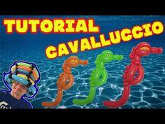 PALLONCINI MODELLABILI tutorial 28  CAVALLUCCIO MARINO - YouTube