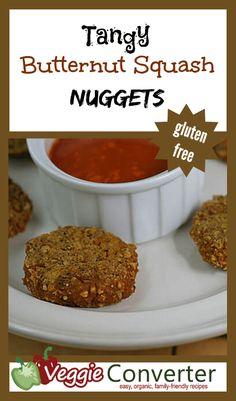 Tangy Butternut Squash Nuggets #glutenfree #vegan