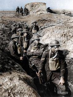 La Primera Guerra Mundial, a todo color (FOTOS)