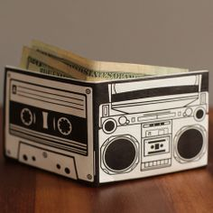 Mighty Wallet - Boombox