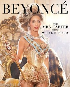 BEYONCE - The Mrs. Carter Show World Tour - 2 Tickets for Section114-Row 14 FREE SHIPPING!  http://r.ebay.com/D6lYsM