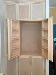 Pantry cabinet do it yourself home projects from ana white pantry cabinet do it yourself home projects from ana white kitchen pantry pinterest ana white pantry and kitchens solutioingenieria Choice Image