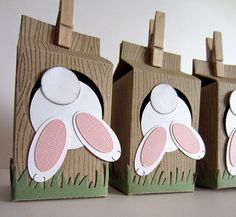 groß incredible paper decorations for Easter - Dekoration Site / 2019 Bunny Party, Easter Party, Easter Gift, Easter Bunny, Boyfriend Crafts, Easter Projects, Easter Treats, Paper Decorations, Easter Baskets