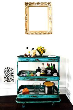 How to put together the perfect bar cart — 9 party-ready examples