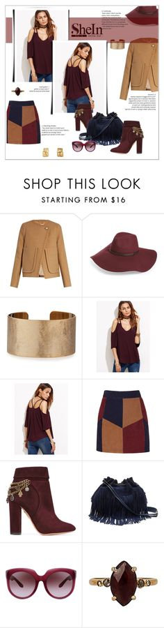 """""""Fall Colors with SHEIN"""" by metropulse ❤ liked on Polyvore featuring See by Chloé, Halogen, Panacea, LaMarque, Aquazzura, Diane Von Furstenberg, Bottega Veneta and Chan Luu"""
