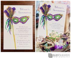 Quinceañera invitation idea for wording and design -- ALSO nice photography idea \\ Photo