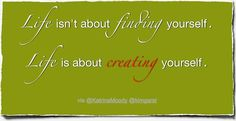 Create Yourself – Friday Finish Quote |