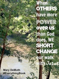 Power over us. Created by Jo Ann Fore.