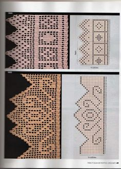 811 Best Crocheted Trim Images Crochet Lace Crochet