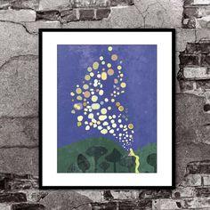 Lantern Painting - Tangled - Disney Pixar Inspired - Movie Poster Art by FADEGrafix on Etsy https://www.etsy.com/listing/165274812/lantern-painting-tangled-disney-pixar