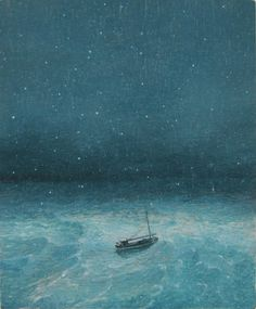 Voyage by Barry McGlashan, 2011, oil on panel, April Showers exhibition at The Scottish Gallery, Edinburgh - Contemporary Art Since 1842
