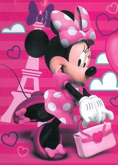 Minnie Mouse in Paris https://www.pinterest.com/cbc2877/