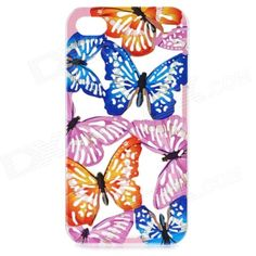 Color: Blue + Pink + Multi-Colored; Model: A1LJ; Quantity: 1 Set; Material: Plastic; Shade Of Color: Blue; Compatible Models: IPHONE 4,IPHONE 4S; Design: Mixed Color; Style: Back Cases; Other Features: Protects your device from shock, scratch and abrasion with preserved spaces for ports and controls on the phone; Packing List: 1 x Back case; http://j.mp/1ljQEgx