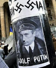 Adolf Putin invades Ukraine