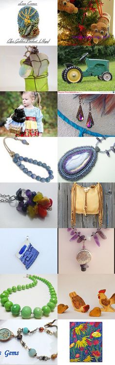 Creativity in Excess from the Lacwe team by Monique on Etsy #handmade #lacwe #jewelry #accessories #fineart #toys #vintage