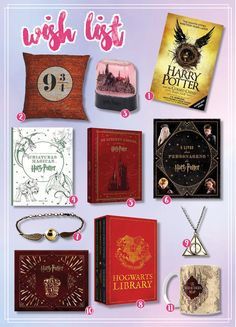 Wish List - Harry Potter