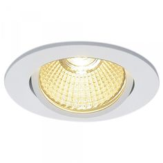 Einflammiger LED-Einbaustrahler New Tria 68 Clipfedern Hochvolt rund 3000... | SLV | 0114381 - click-licht.de