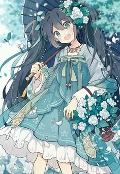 Anime art on Oniarts Manga Anime, Manga Kawaii, Film Anime, Kawaii Anime Girl, Anime Art Girl, Anime Chibi, Manga Girl, Anime Girls, Beautiful Anime Girl